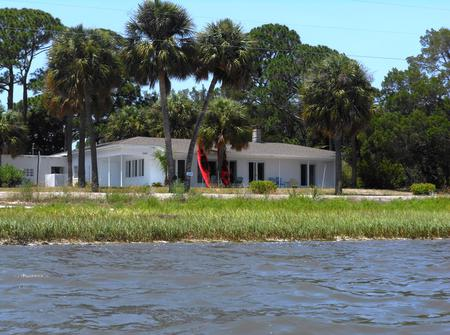 Islands 11 is a vacation rental destination on the Gulf of Mexico in Cedar Key , Florida